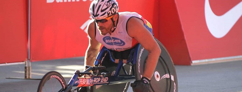 Kurt Fearnley - 5th Chicago Win